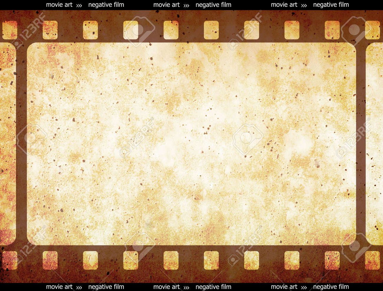 Film Strip Frame Space.... 35mm Filmstrip. Vectorial Illustration ...
