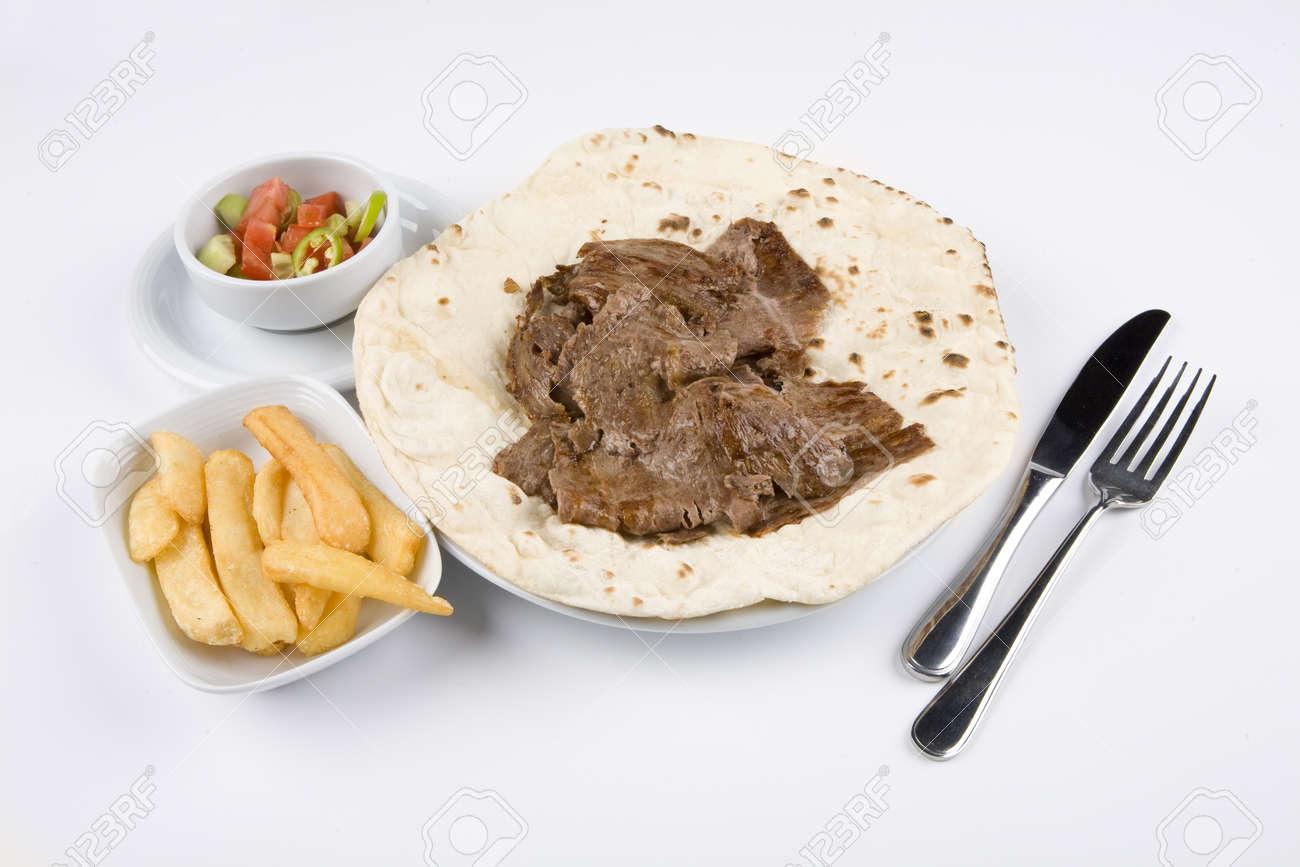 Turkish donner kebab. Donner. Stock Photo - 10836707