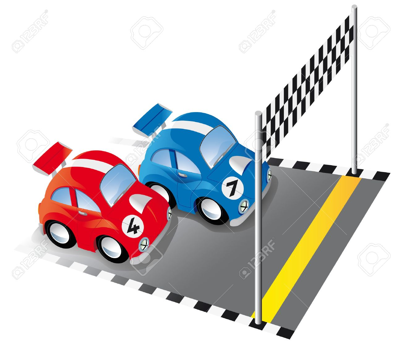 finish line race  Two funny  Race Car Finish Line Clipart