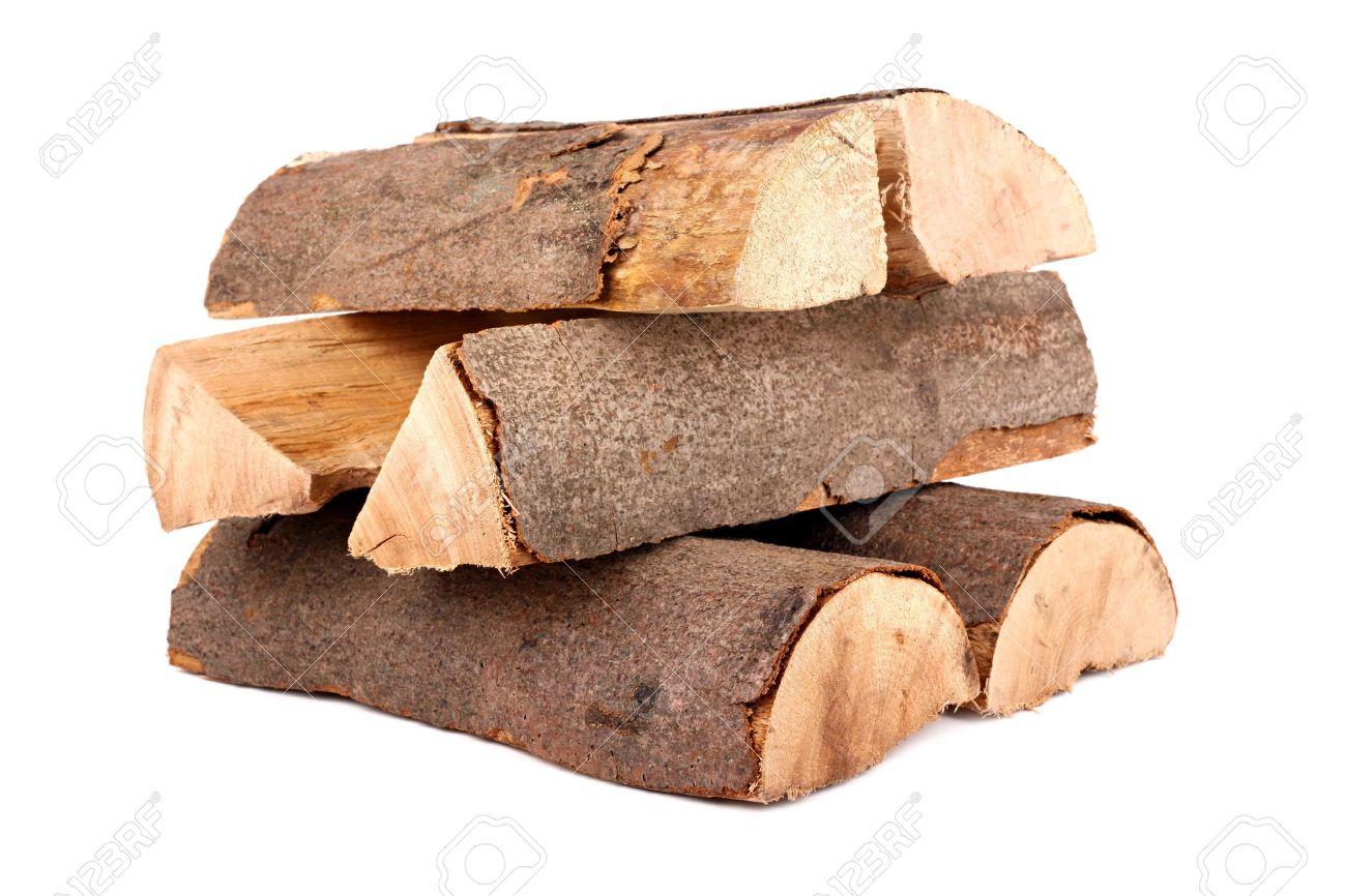 a stack of nature firewood Standard-Bild - 10061377