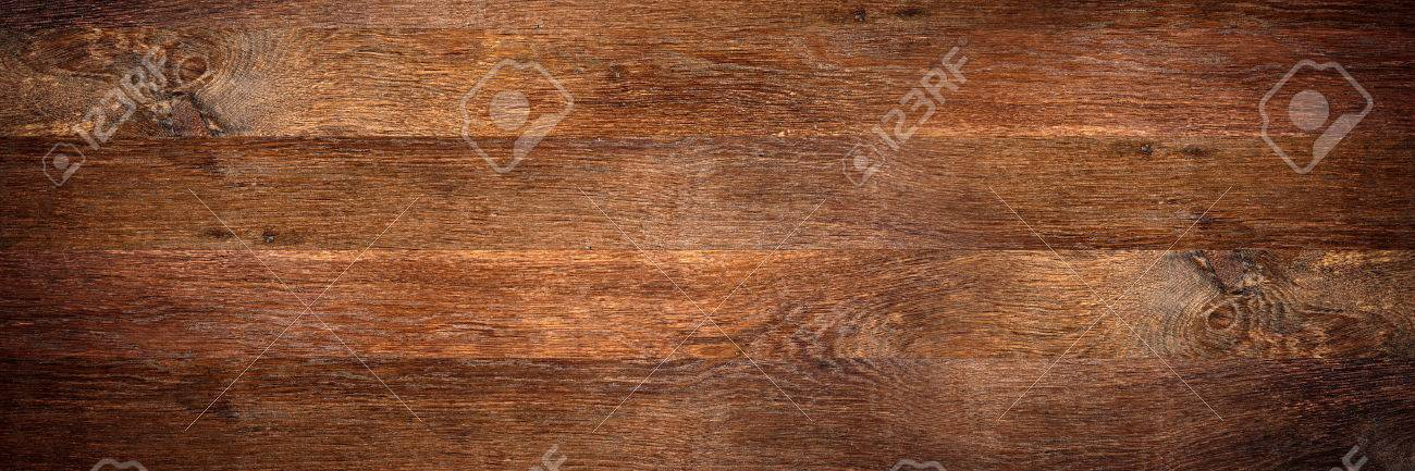 wide old oak wooden background - 54719036