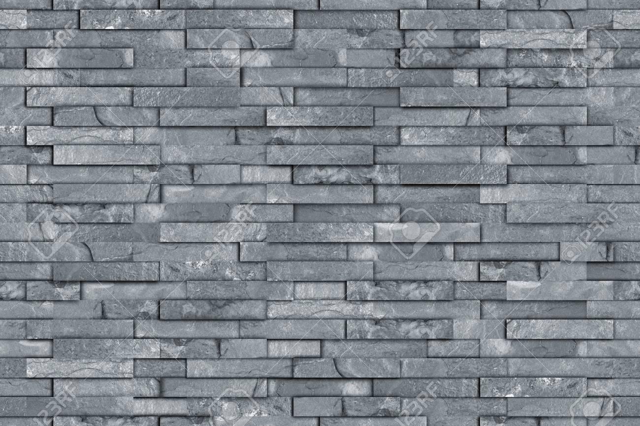 Seamless Gray Slate Stone Rock Wall Texture Modern Design Pattern