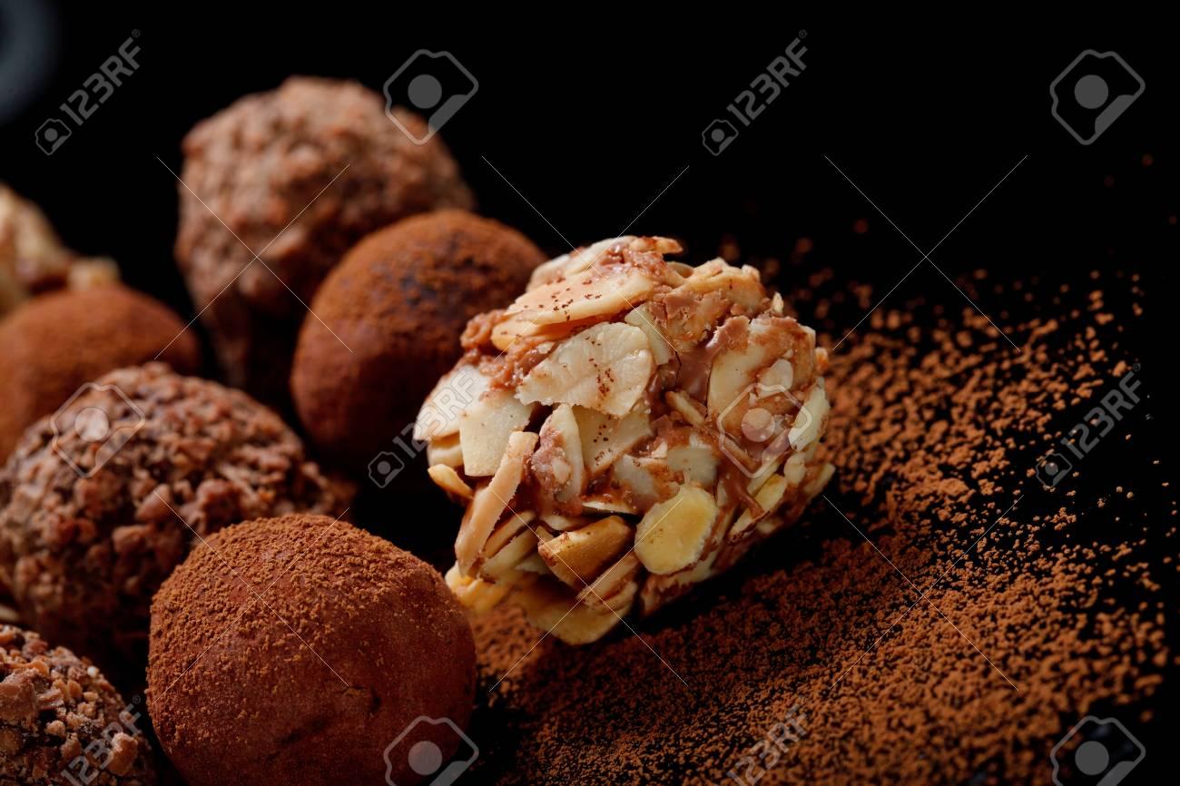 Chocolate Truffles Stock Photo - 19971967