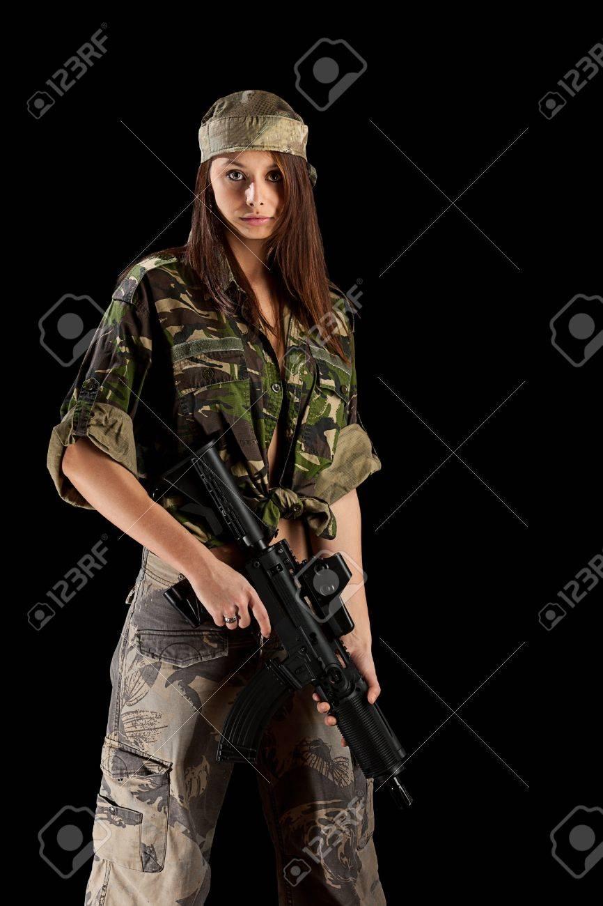 Секси в военной форме