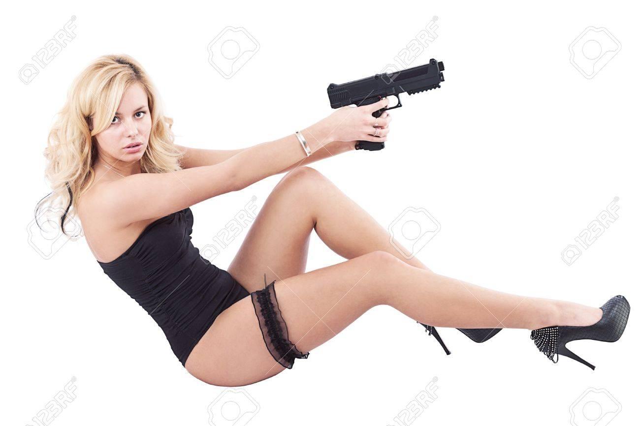 Hot white girls naked with guns, punk guy porn