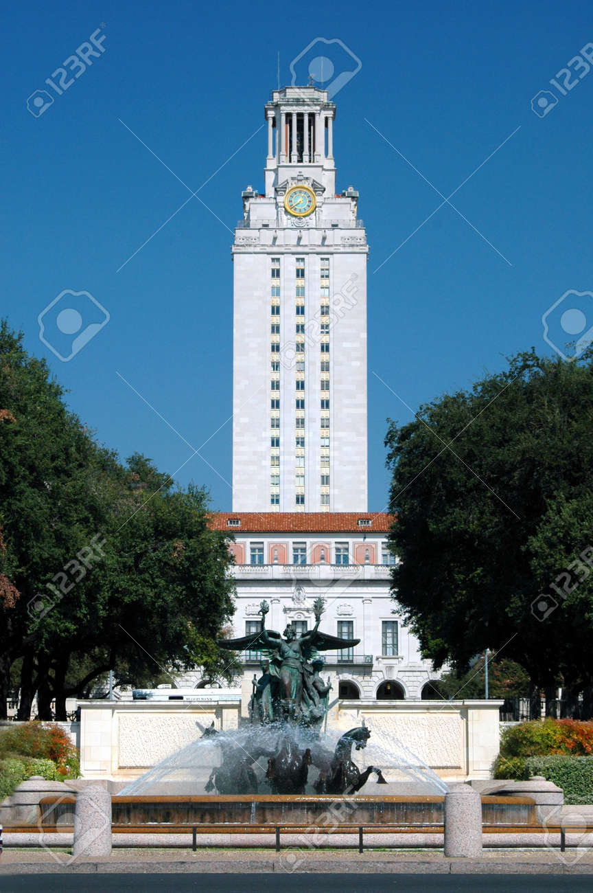 University of Texas Tower Stock Photo - 558698