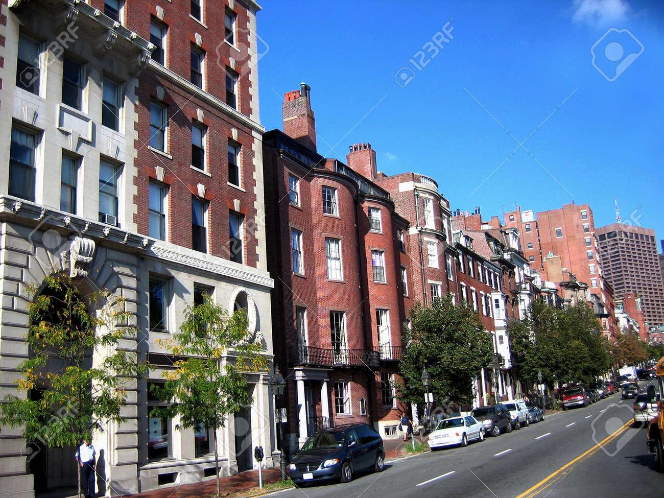 Boston Street Stock Photo - 561978