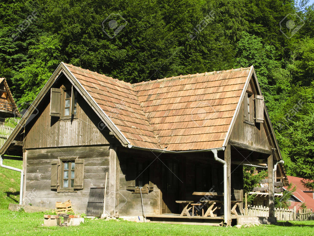 Astounding Old Wooden Country House In Central Europe Balkans Croatia Largest Home Design Picture Inspirations Pitcheantrous