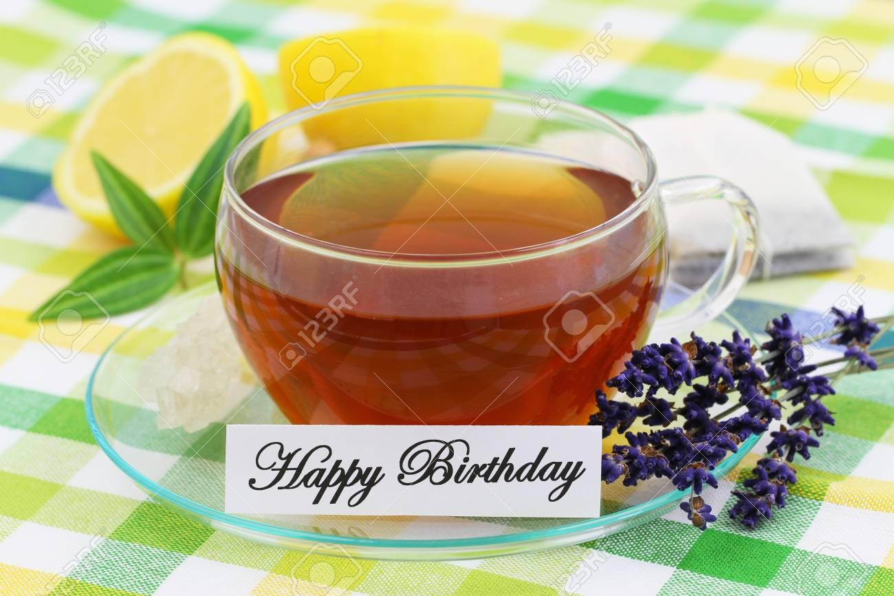 Birthday Card....Cup of Tea