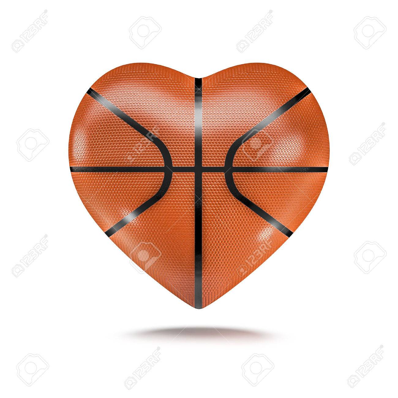 basketball heart 3d render of heart shaped basketball stock photo rh 123rf com heart shaped basketball png heart shaped basketball png