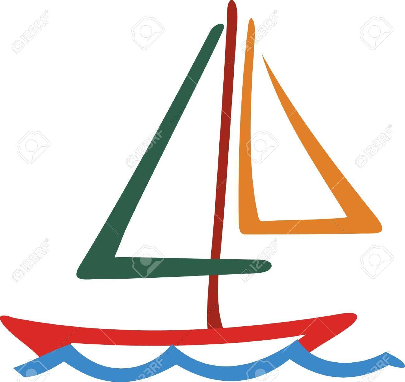 Notre Colore Dessin Au Trait De Voilier Est Un Must Pour La Foule De La Navigation De Plaisance La Conception De Contour Simple Mais Frappante Font Un Clin D Oeil A Coudre Sur