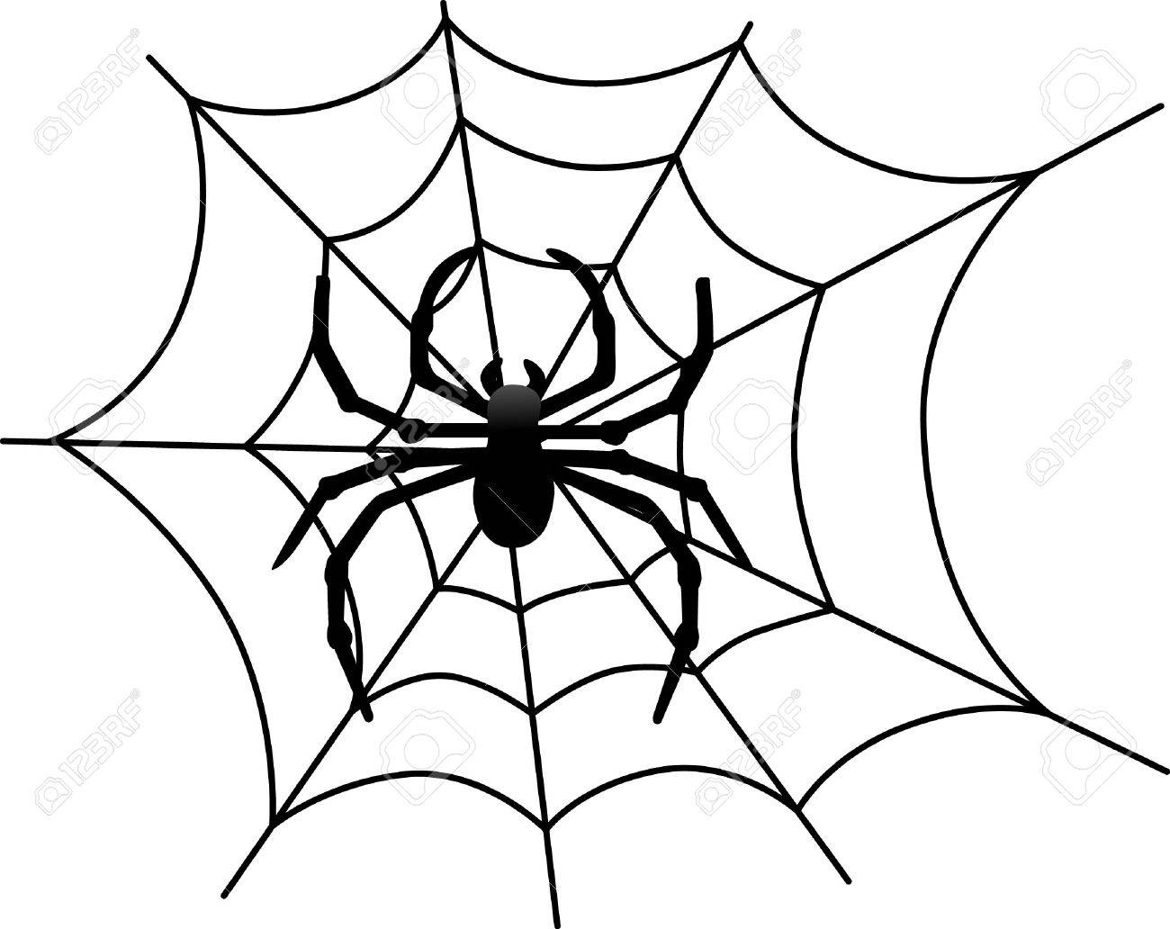 our big black spider weaves a scary web for halloween creations