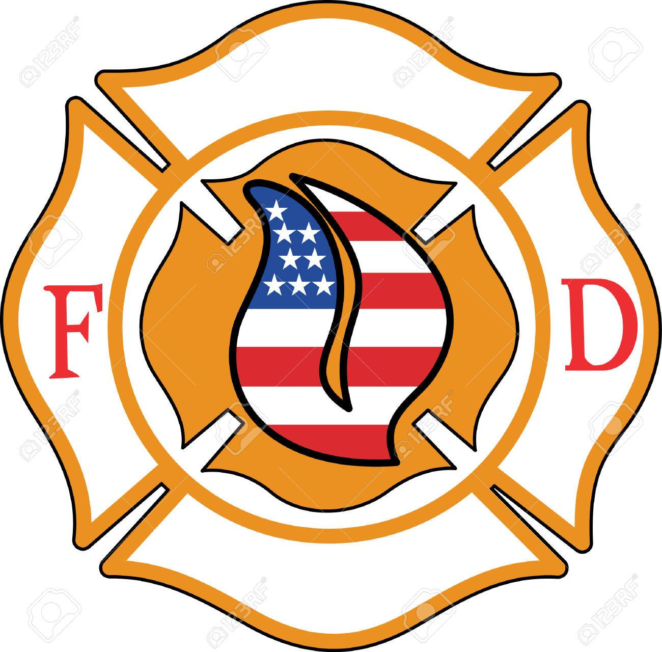 Customize gear for Fire Fighting and rescue professionals with this design on t-shirts, shirts, hats and more. - 51224595