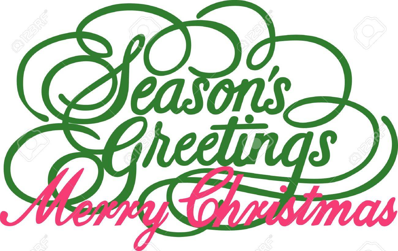 Seasons greetings just cannot be expressed more beautifully this seasons greetings just cannot be expressed more beautifully this lovely calligraphy is just perfect for kristyandbryce Choice Image