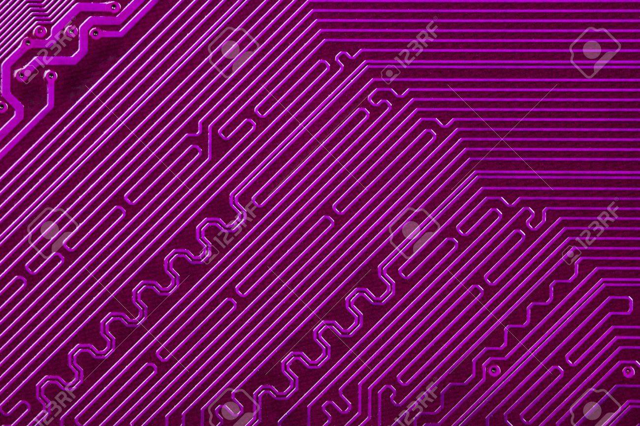 Circuit Board Violet Free Wiring Diagram For You Green Fabric By Craftyscientists On Spoonflower Custom Electronic Stock Photo Picture And Royalty Rh 123rf Com Voltage