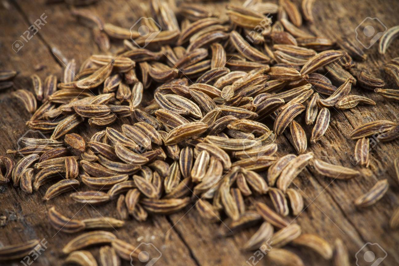 Spice cumin in extreme macro, detail - 25254689