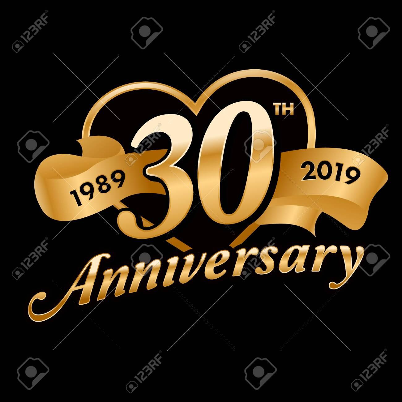 30th Anniversary Symbol - 121759298