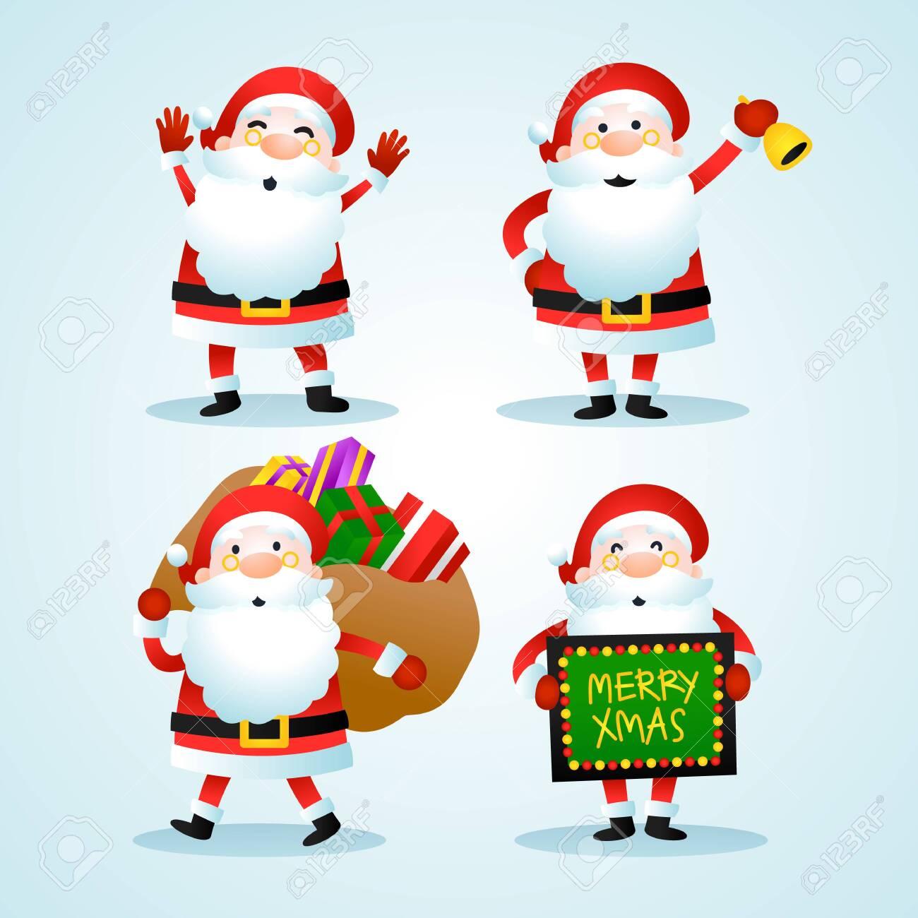 Santa Claus Christmas Set - 121759306