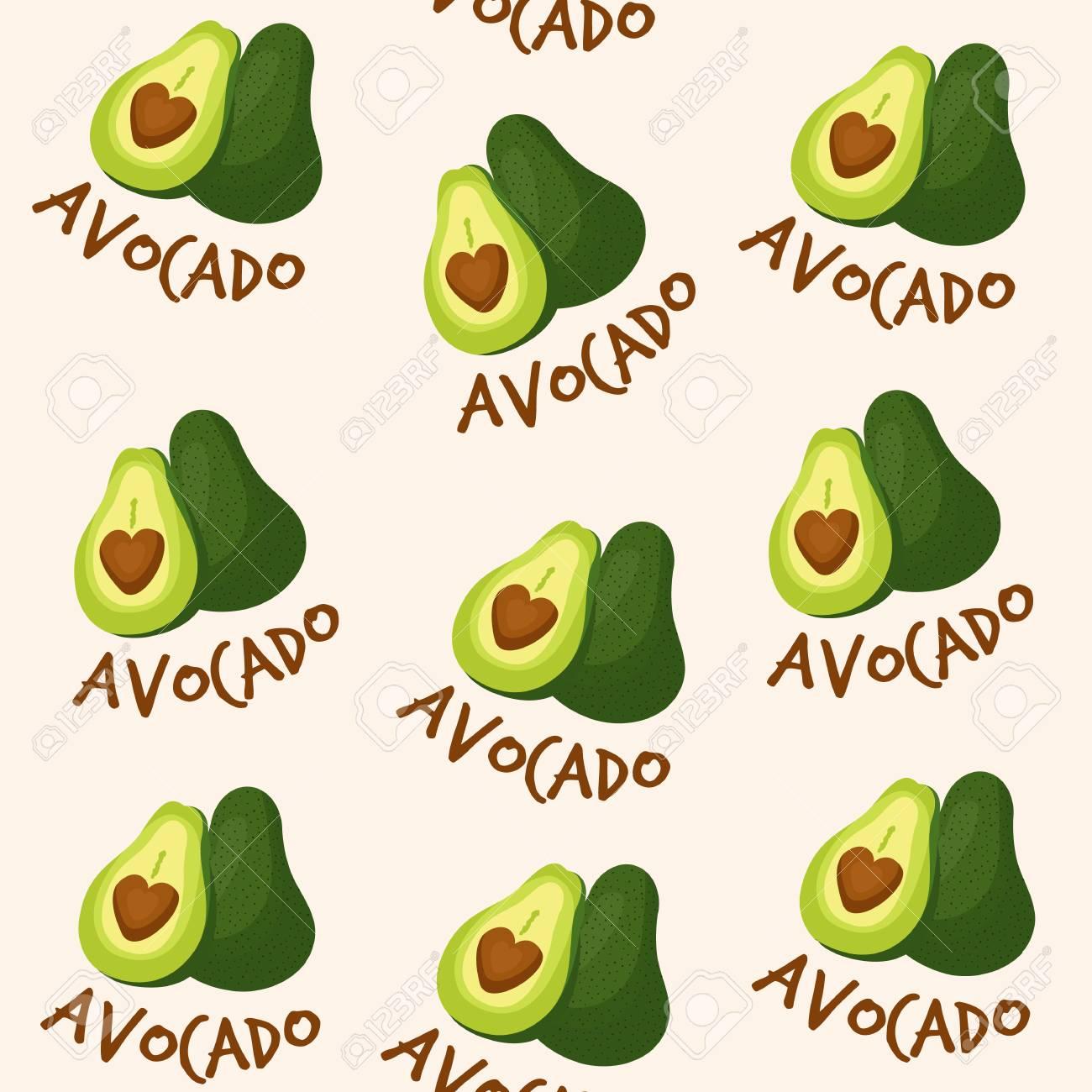 Avocado Pattern - 121759339