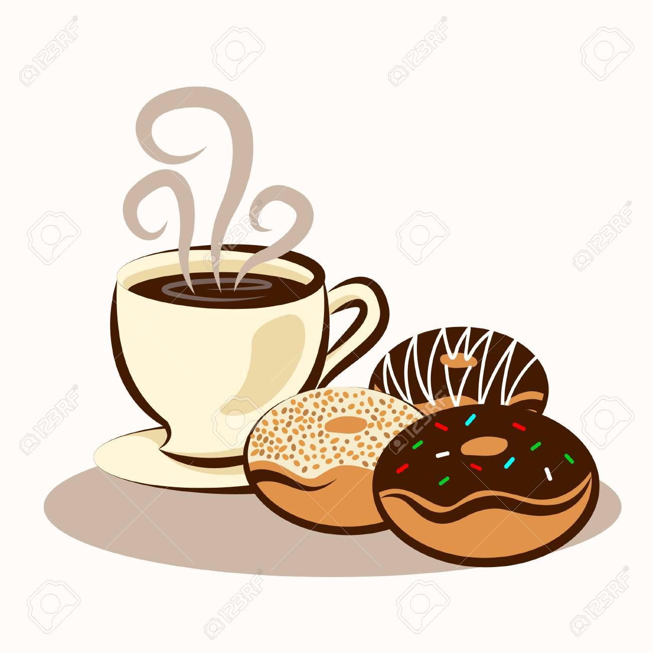 Coffee & Donuts - 121759340