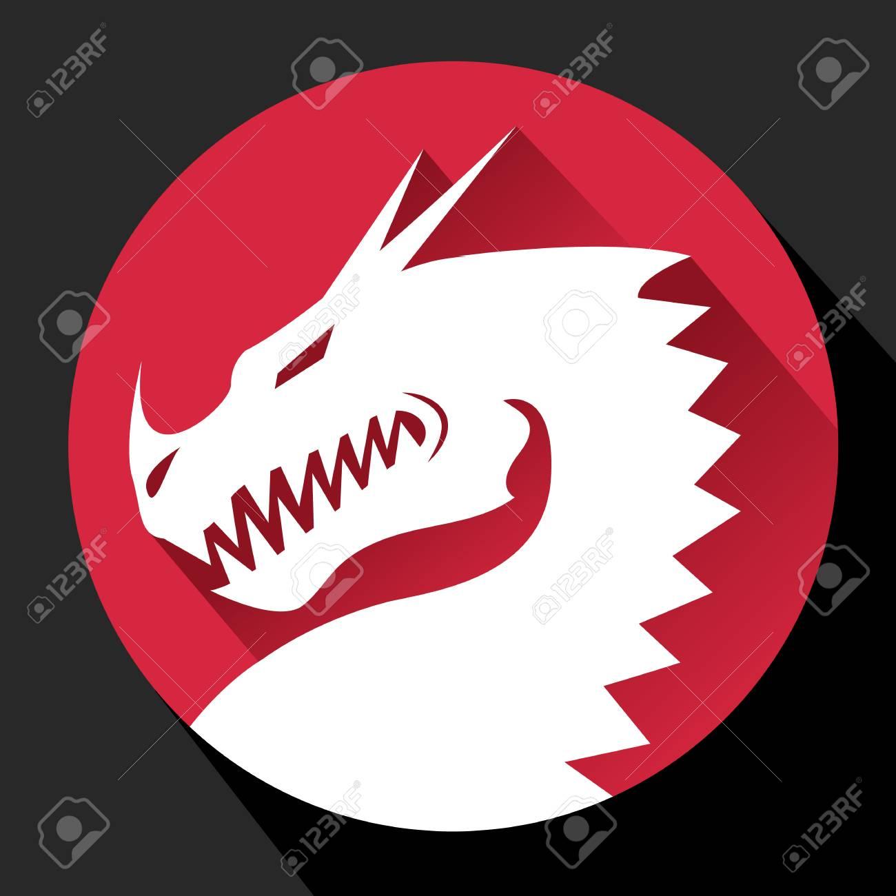 Dragon Flat icon - 121759351
