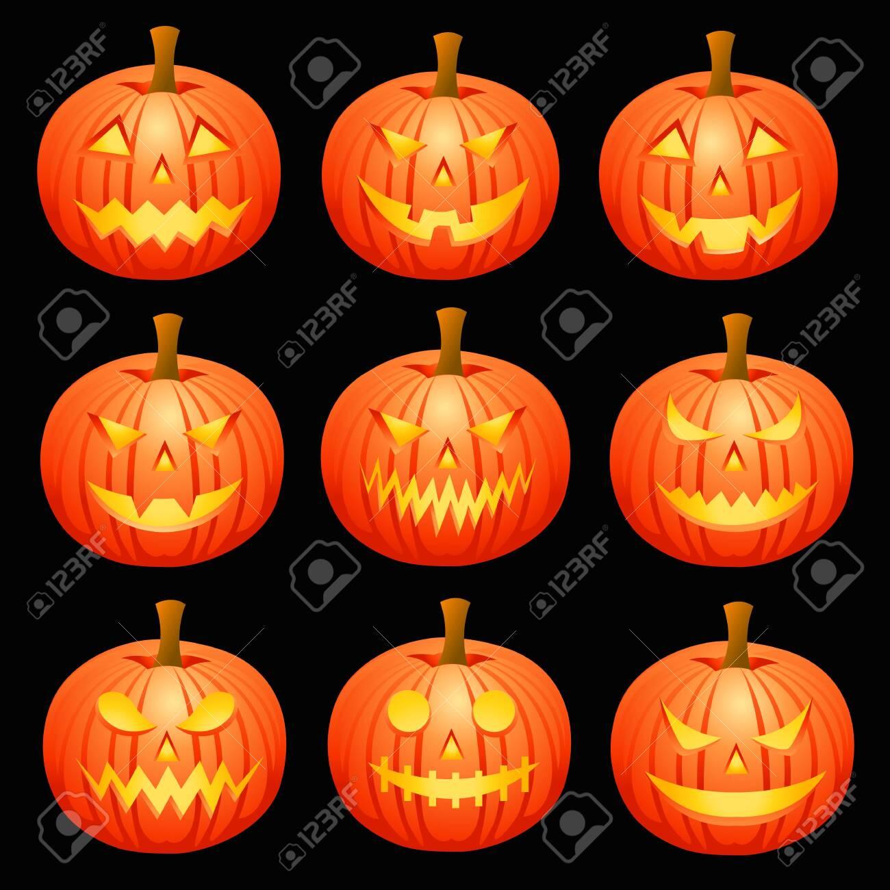 Jack O'lanterns - 121759370