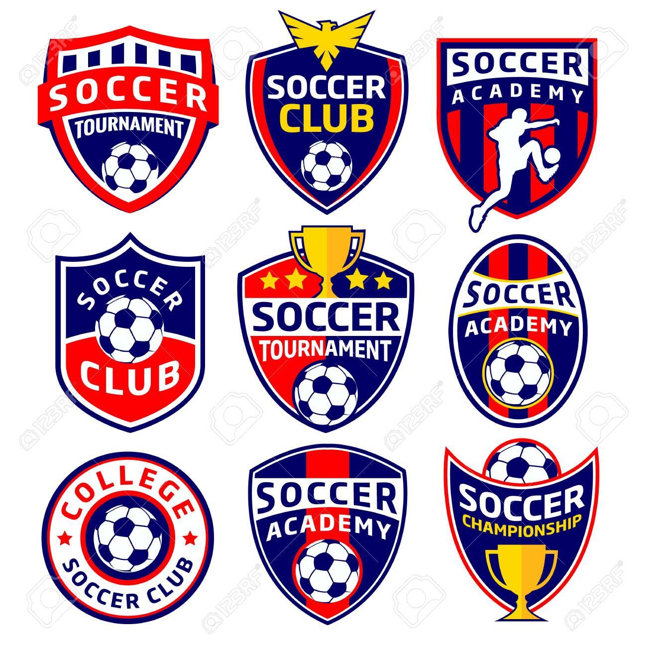 Soccer Labels - 121759371