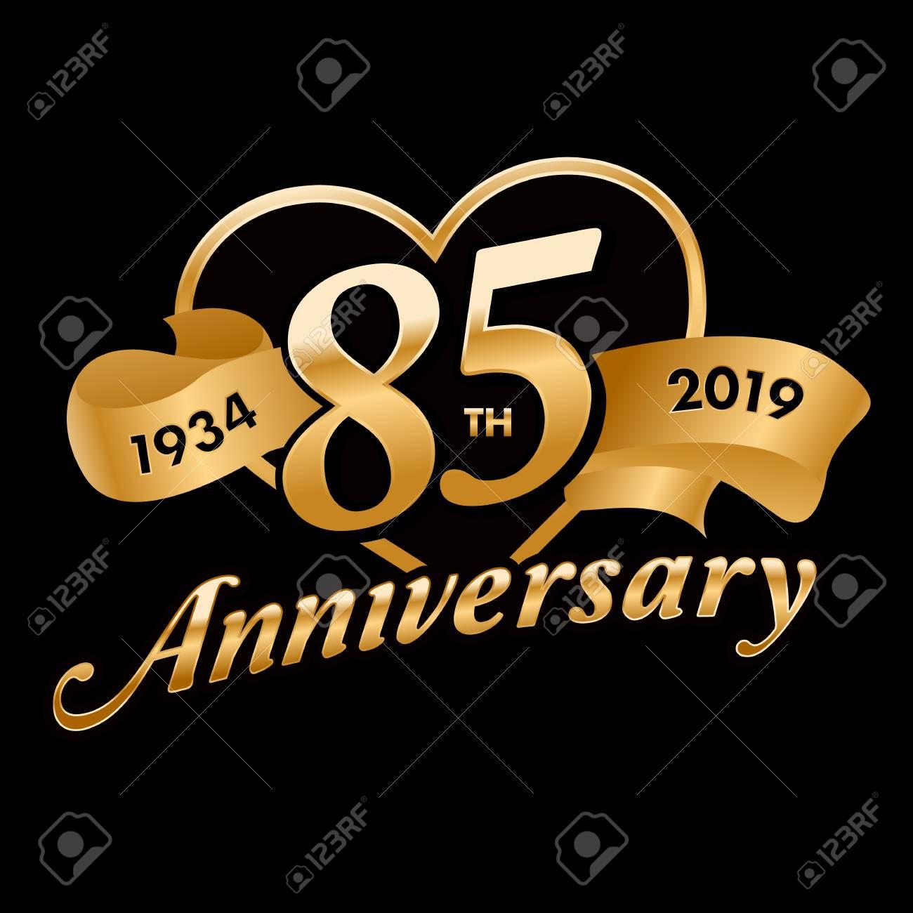 85th Anniversary Symbol - 121759386