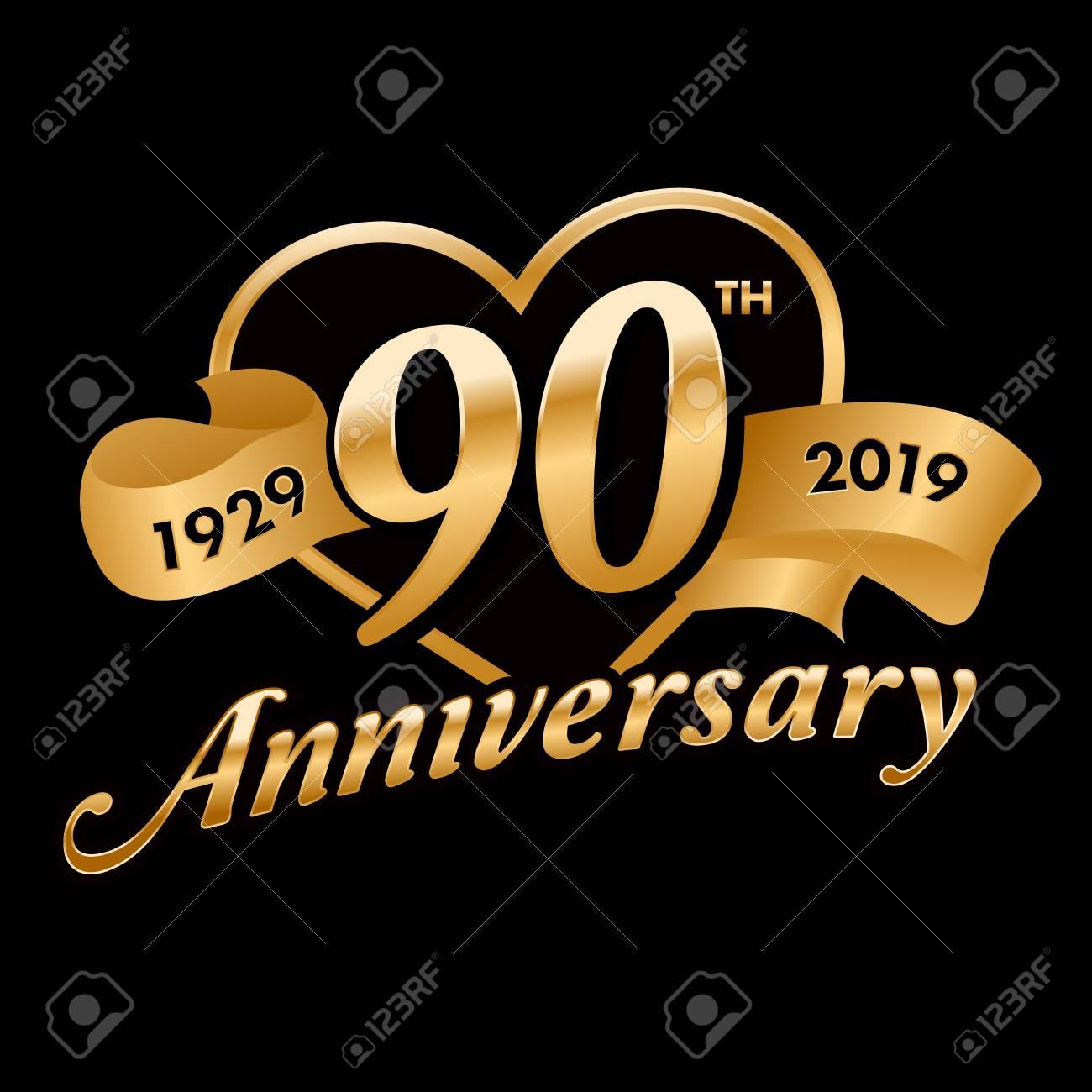 90th Anniversary Symbol - 121759383