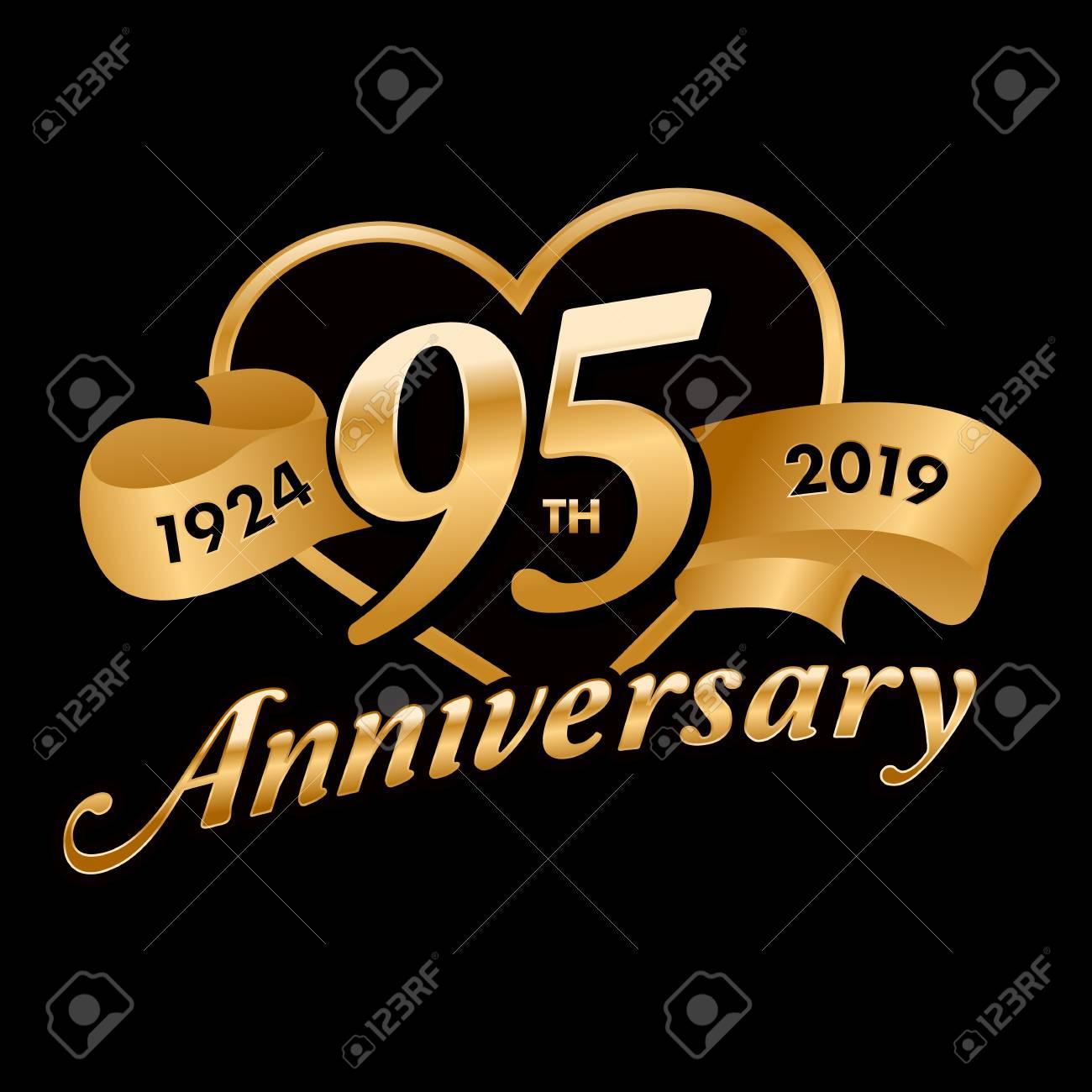 95th Anniversary Symbol - 121759384