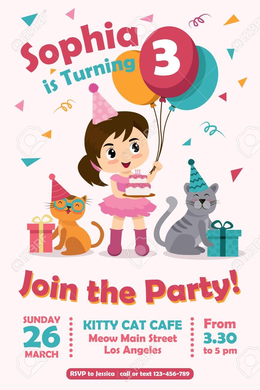 Birthdy card invitations - 150395174