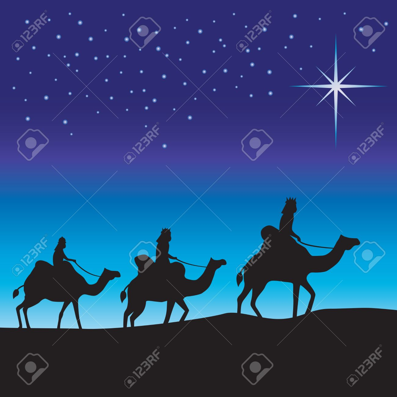1 586 three wise men stock illustrations cliparts and royalty free rh 123rf com Three Wise Men with Jesus Three Wise Men with Jesus