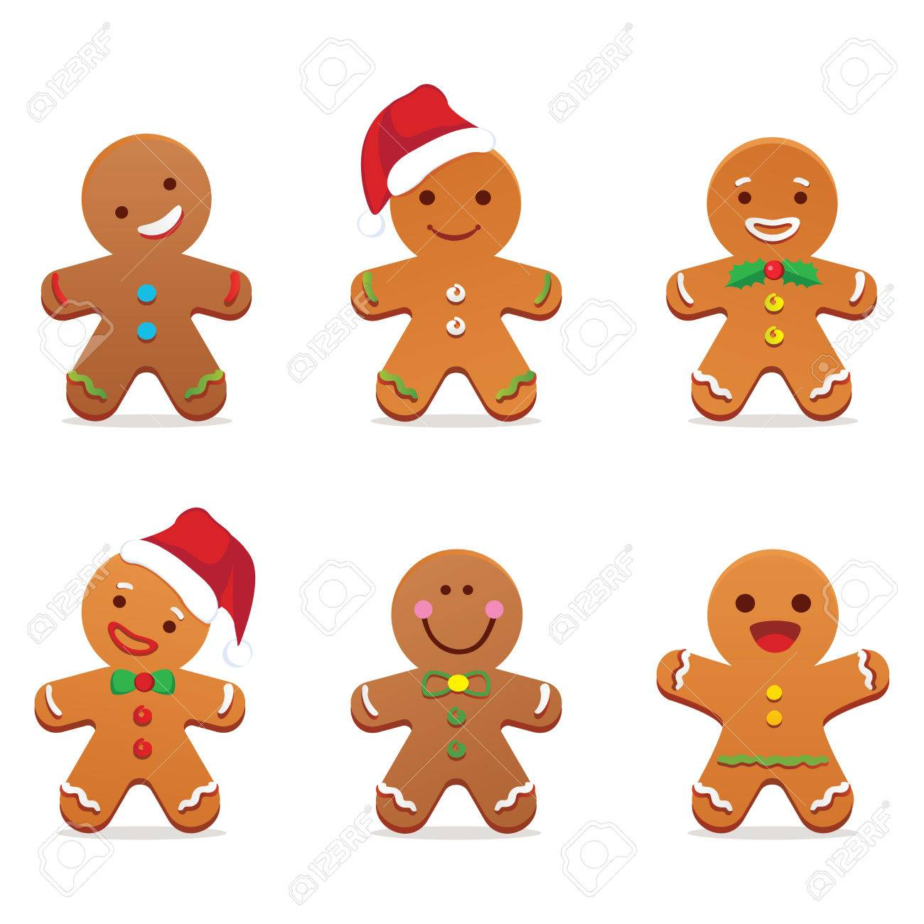 Gingerbread man royalty free cliparts vectors and stock gingerbread man stock vector 48629931 voltagebd Image collections
