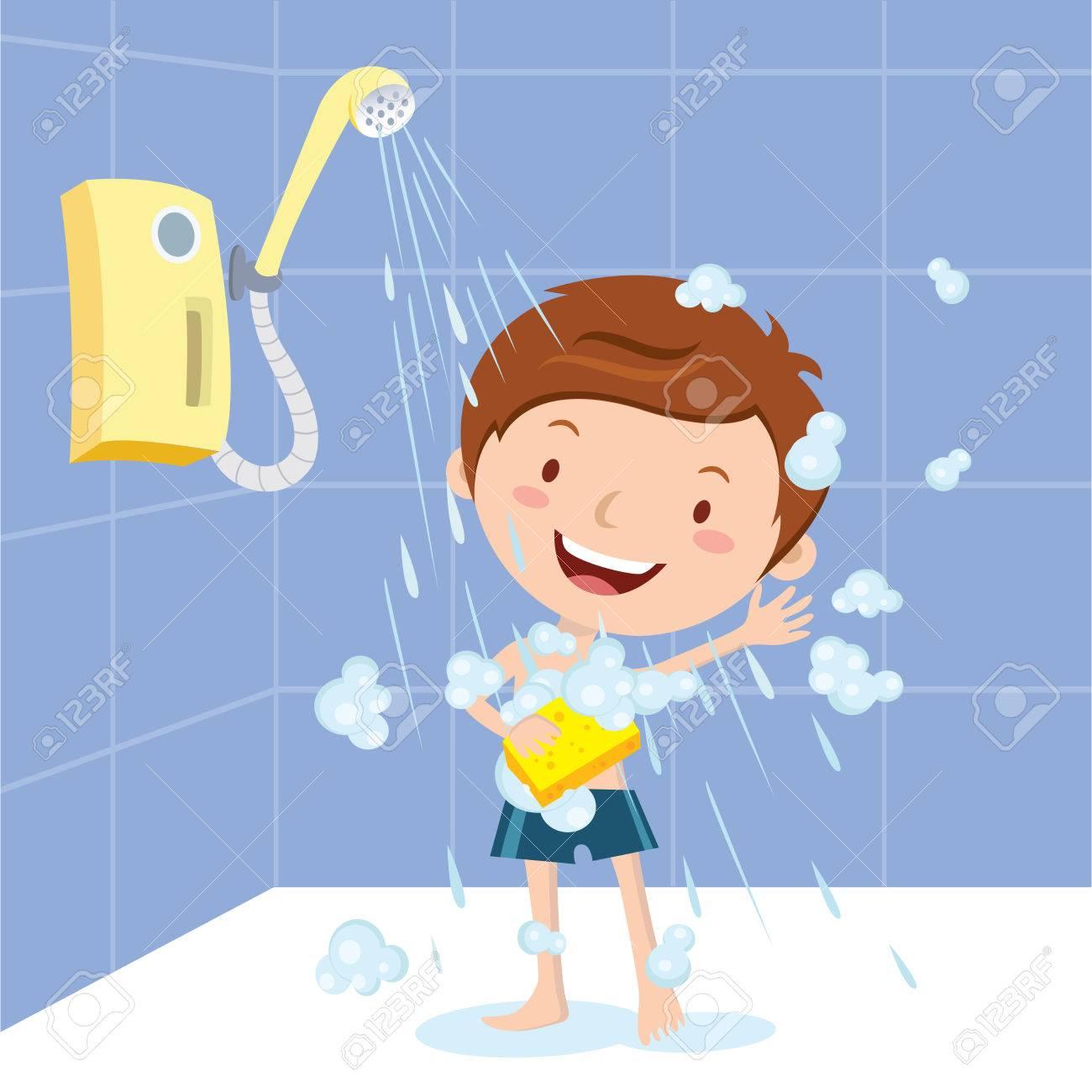 Boy shower - 66571275