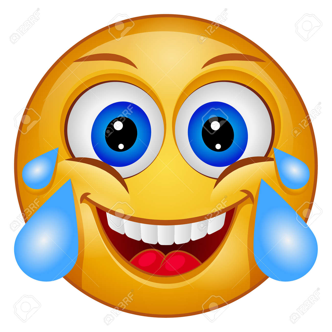 Gradient color icon for emoji face. - 158140081