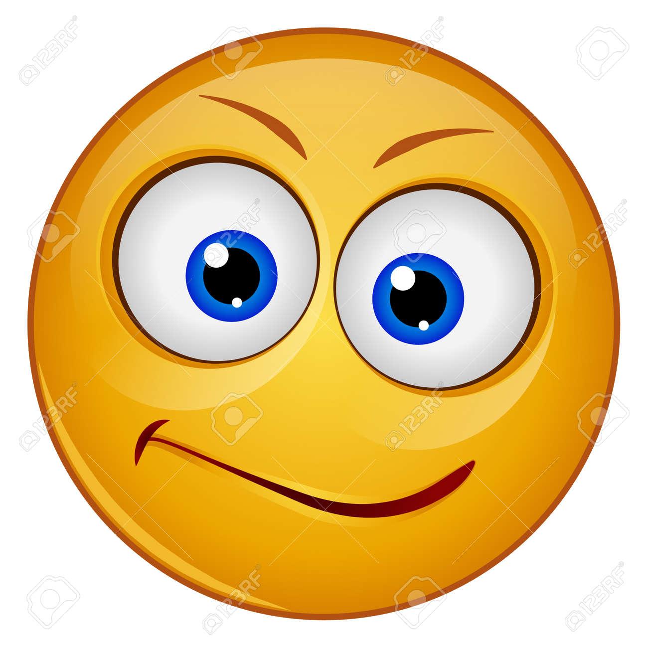 Gradient color icon for emoji face. - 158142557
