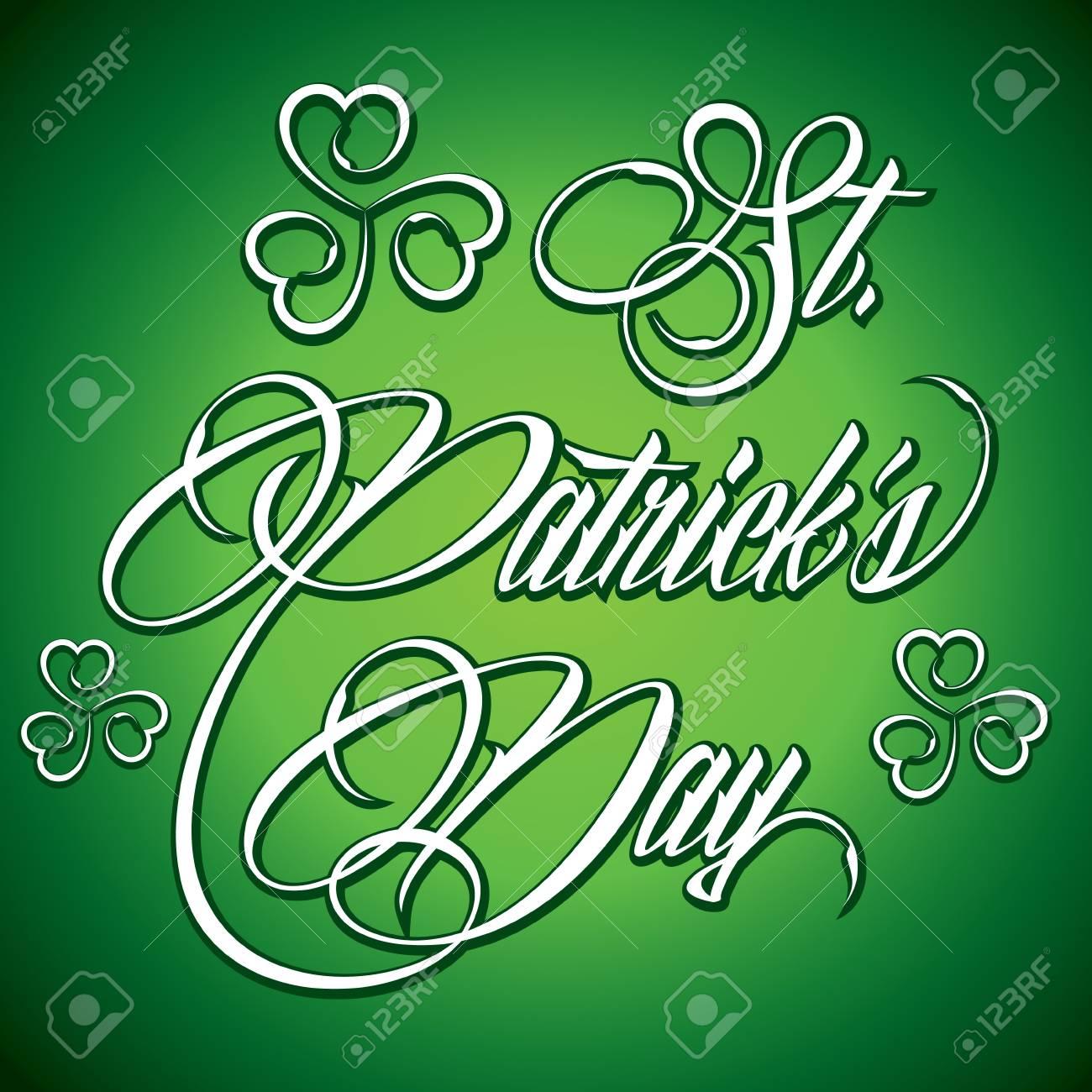 Creative design for St  Patrick s Day - vector illustration Stock Vector - 21490883