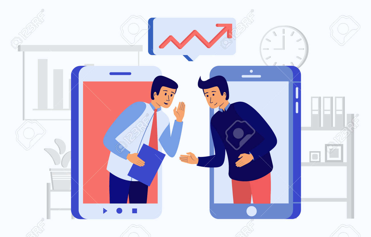 Vector illustration of insider information about a important company - 165062161