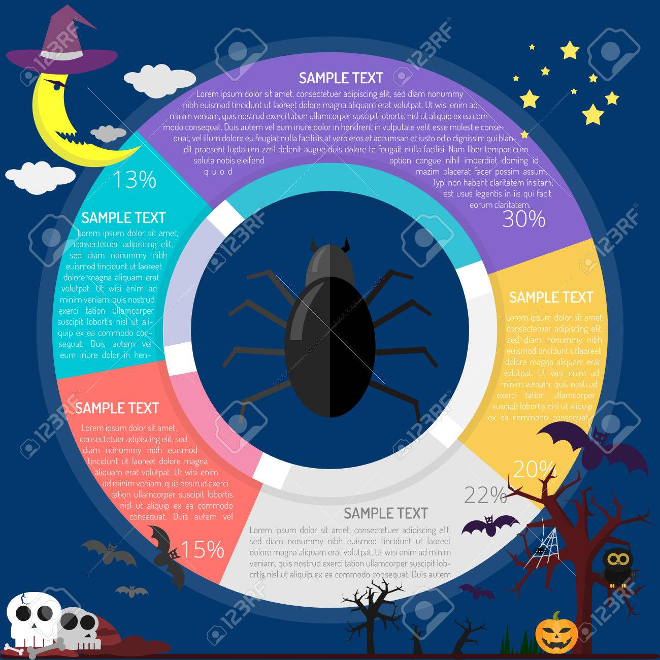 Spider diagram infographic royalty free cliparts vectors and stock spider diagram infographic stock vector 86900362 ccuart Choice Image