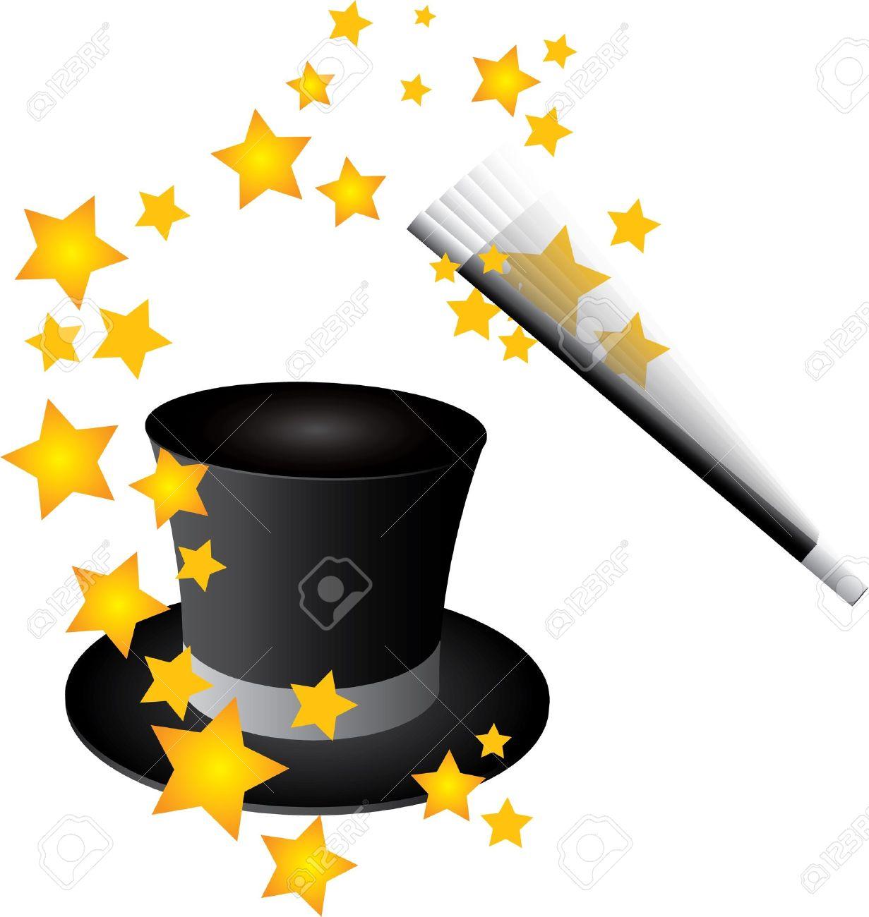 93fa2ea3bb1 Vector de sombrero mágico