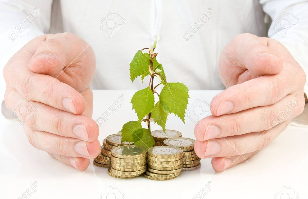 concept for good investment and money making Stock Photo - 9440201