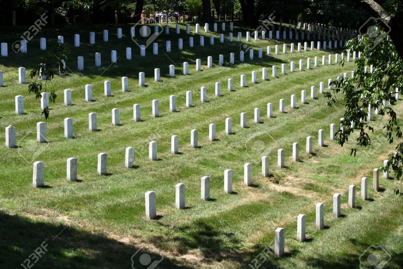 Arlington National Cemetery Stock Photo - 9886009
