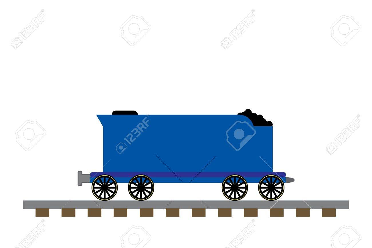 train coal car illustration stock photo picture and royalty free