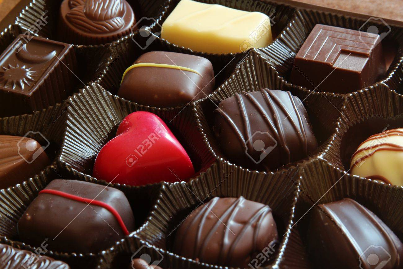 Valentines Day Chocolates Stock Photo, Picture And Royalty Free ...