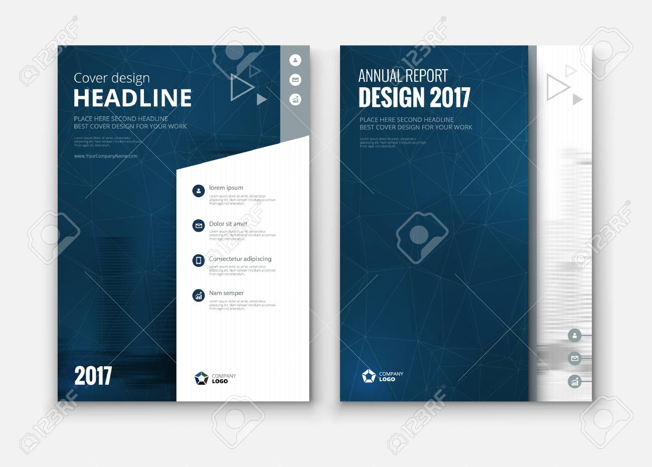 corporate business annual report cover brochure or flyer design leaflet presentation catalog with