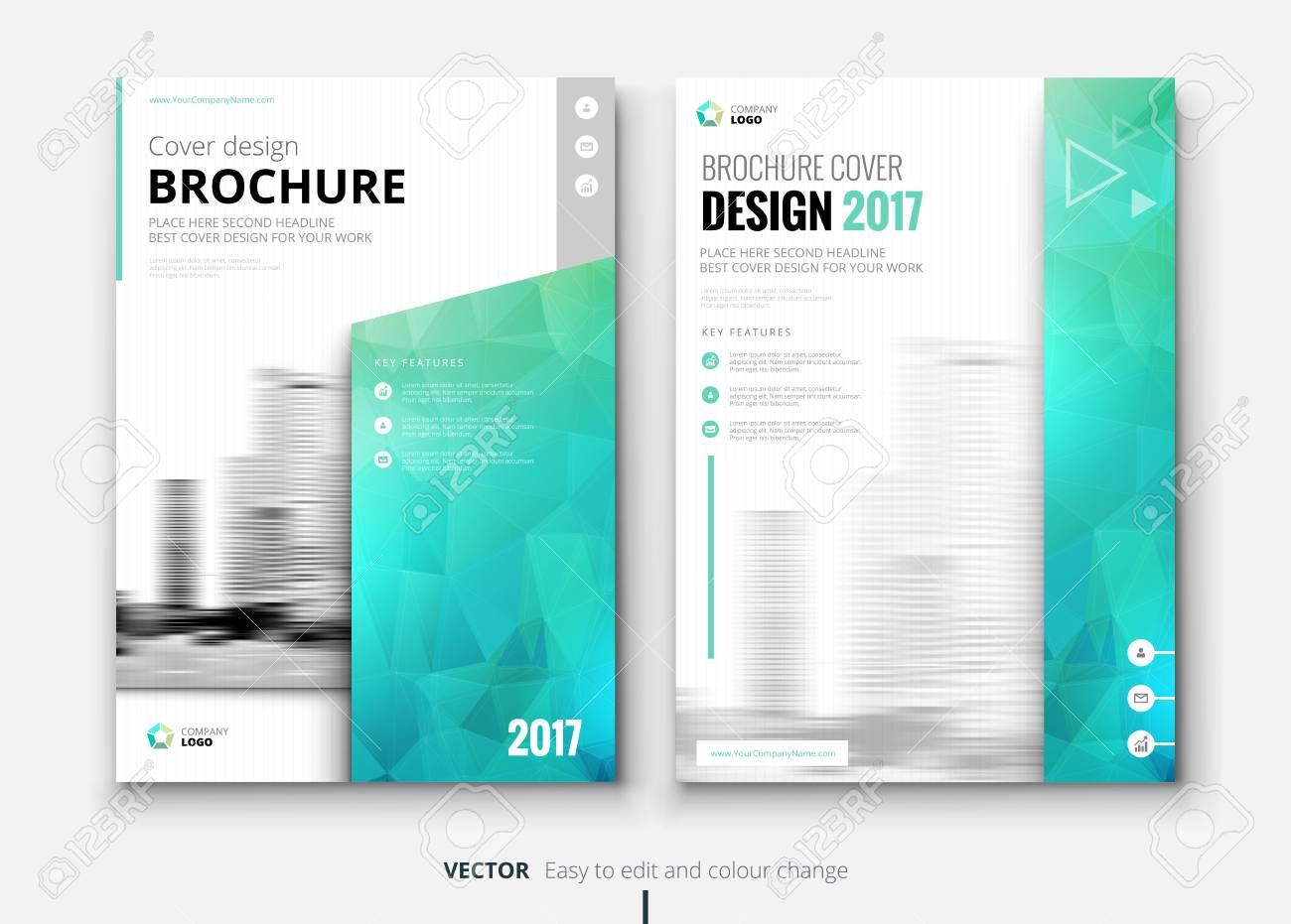 Brochure Design Corporate Business Template For Brochure Report