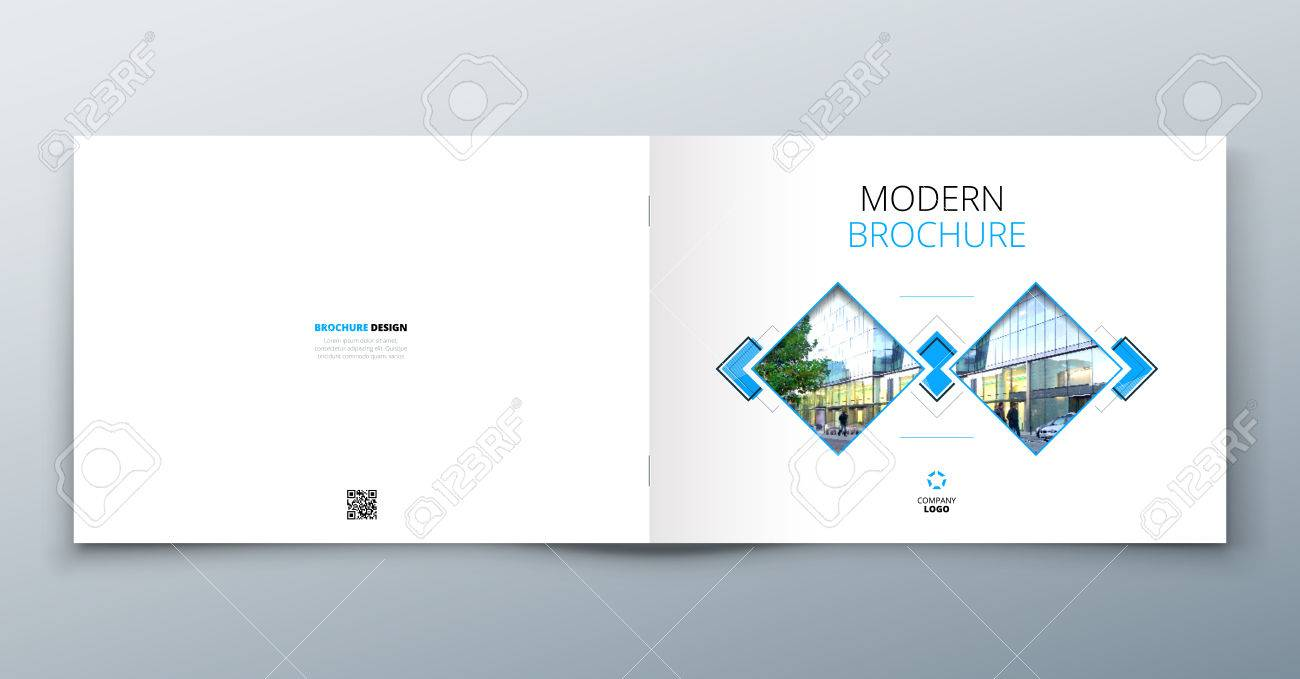 Landscape Brochure Design Corporate Business Template For