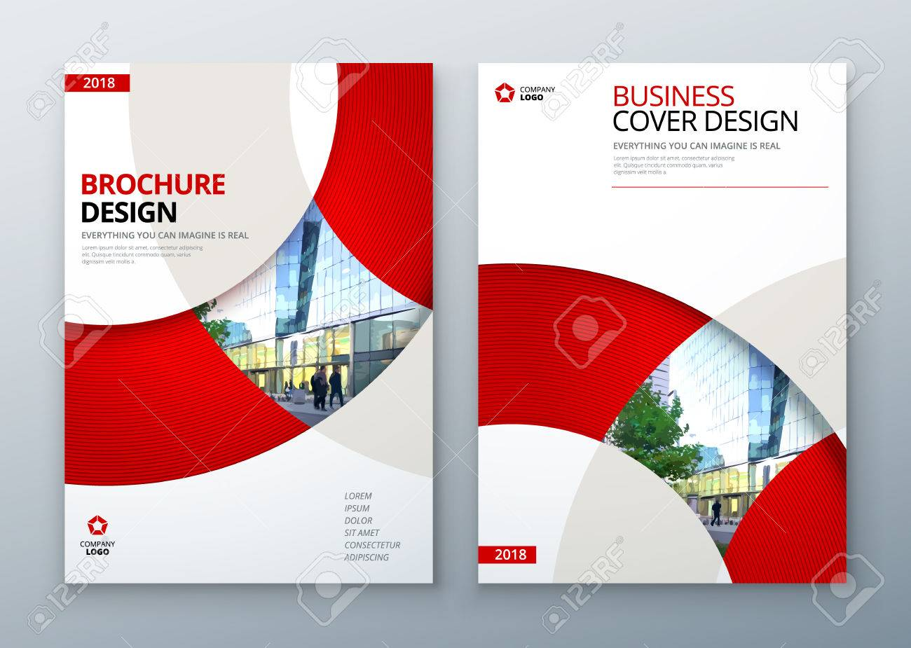 Broschüre Vorlage Layout-Design. Corporate Business Geschäftsbericht ...