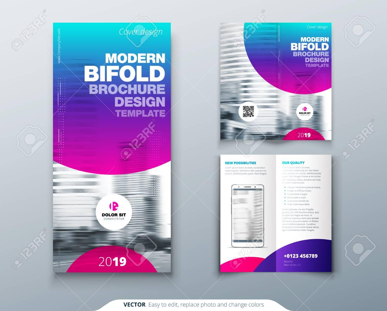 Tri Fold Brochure Design Cool Business Template For Tri Fold