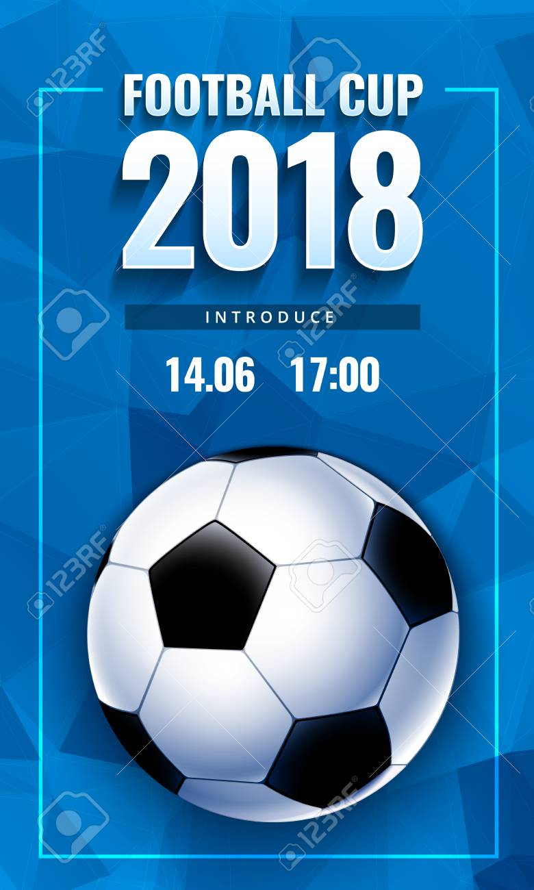 Football World Cup Russia Wallpaper Color Championship Pattern